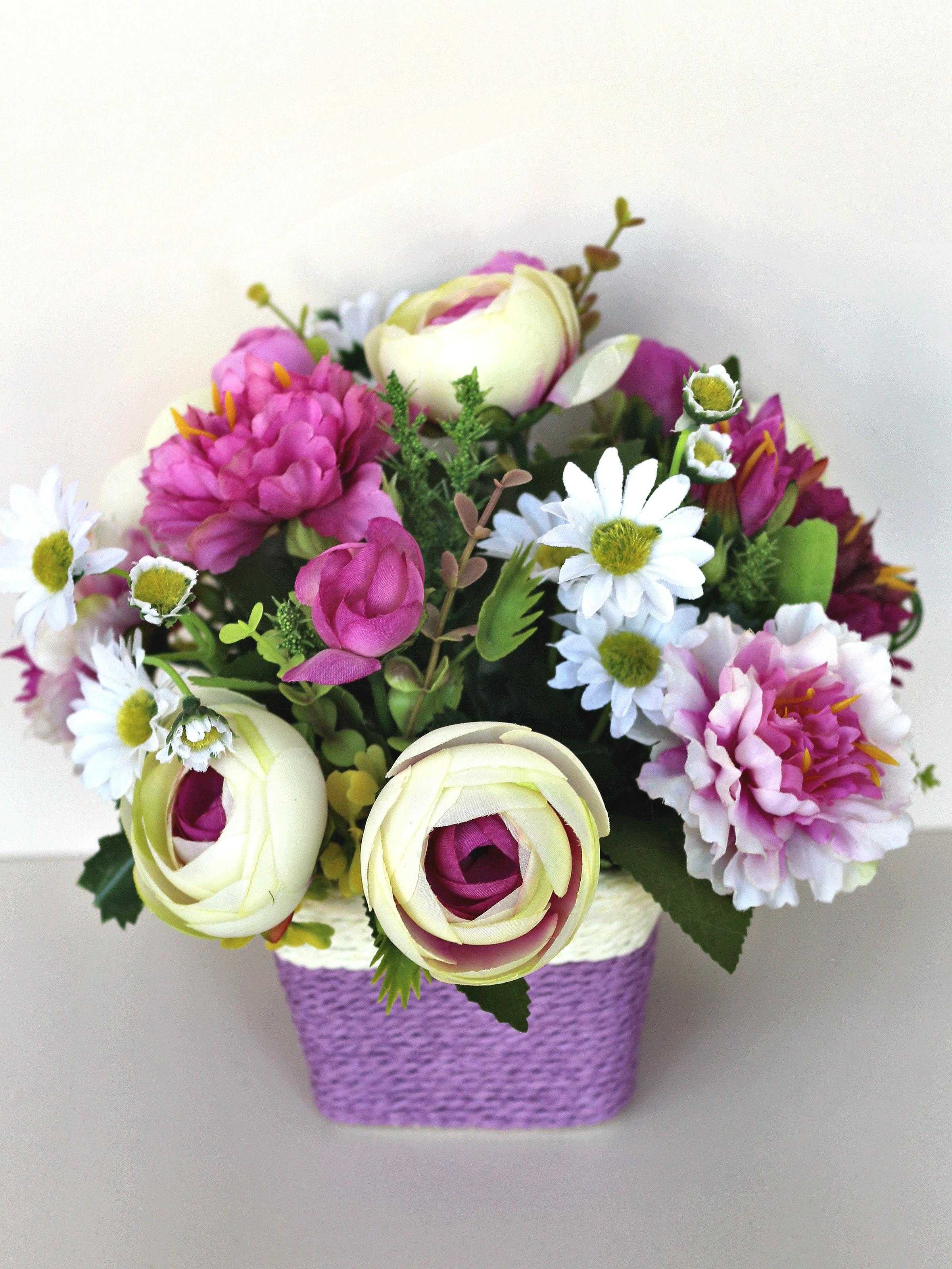Искусственные цветы 402146, сиреневый