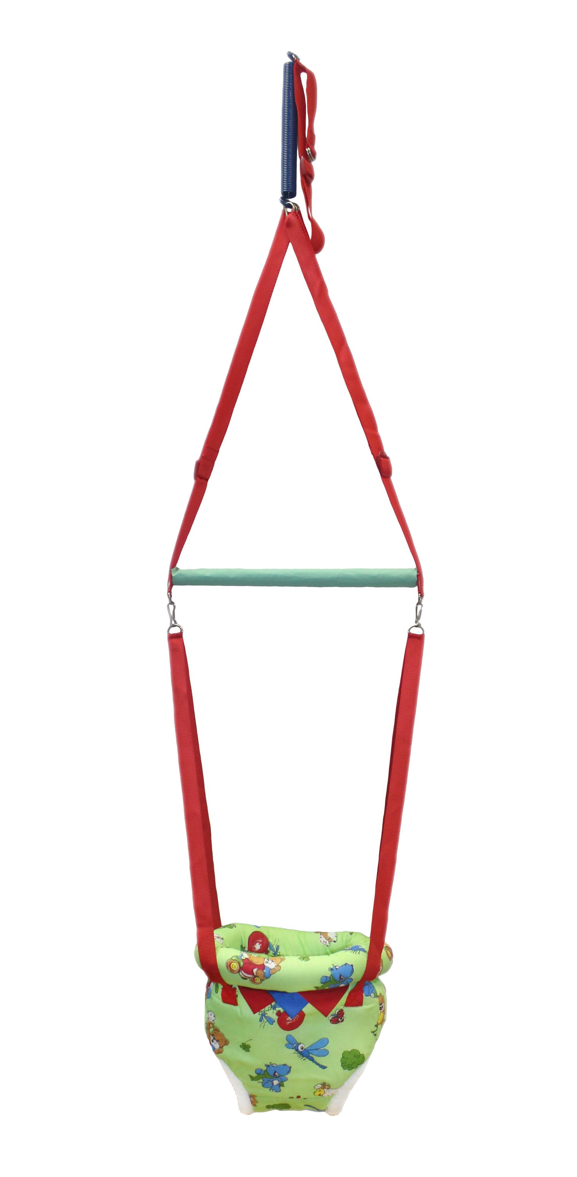 Прыгунки Риббис 4_зелен_шарикикомарики_краснстр красный, зеленый