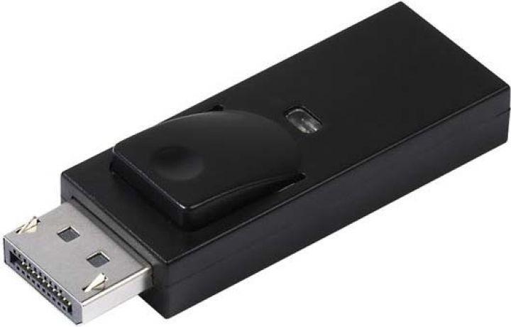 Адаптер Vivanco CA DH 11, Displayport/HDMI, черный titbit titbit вяленые лакомства соломка ароматная из говядины classic 40 г