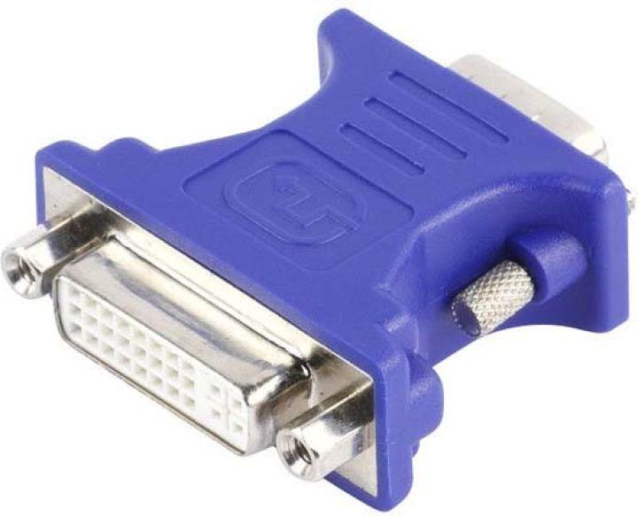 Адаптер Vivanco CA M 2, VGA/DVI, синий vivanco 36762 black
