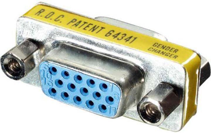 Адаптер Vivanco CA M 5, 15pin HD/15pin HD, серебристый цены онлайн