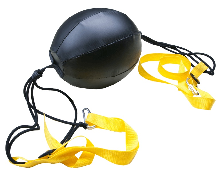 Боксерская груша Харламов-Спорт Пневматическая груша на растяжках, черный боксерская груша уфси на растяжке цвет в ассортименте диаметр 22 см