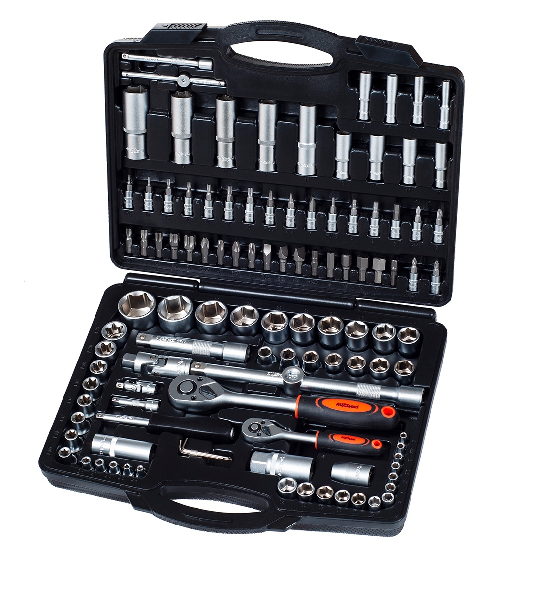 Набор инструментов AV Steel AV-011094 переходник головка 0 11161 со шлангом sks 11161 av presta