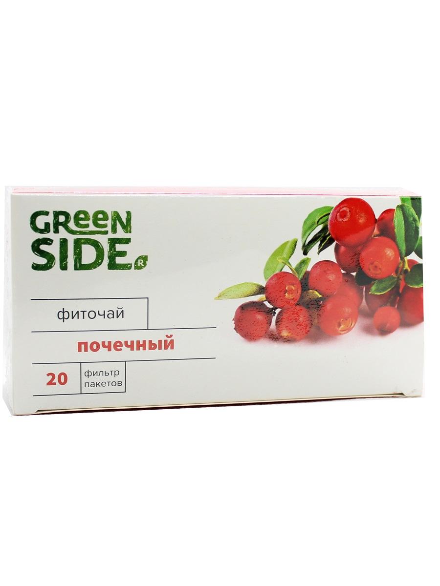 Чай в пакетиках Green SIDE Фиточай Почечный 2г 20 фильтр-пакетов, 40 экономика строительства учебник для вузов