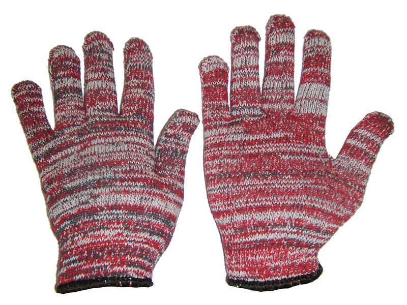 Перчатки защитные Libman Перчатки х/б 10 XL Меланж 27651 перчатки латексные русский инструмент 67724 х б 13 класс