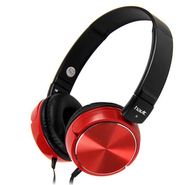 Наушники HAVIT HV-H2178d, красный