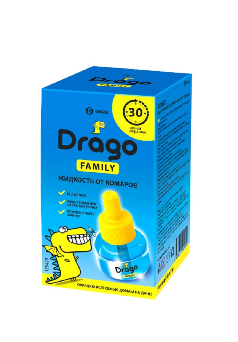 Средство от насекомых GraSS Drago 30мл электрофумигаторы от комаров
