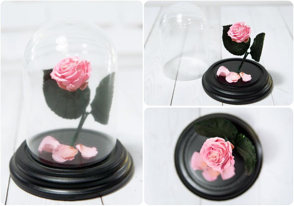 Сувенирный набор Роза в колбе № 1 Пинк ароматерапия запах розы