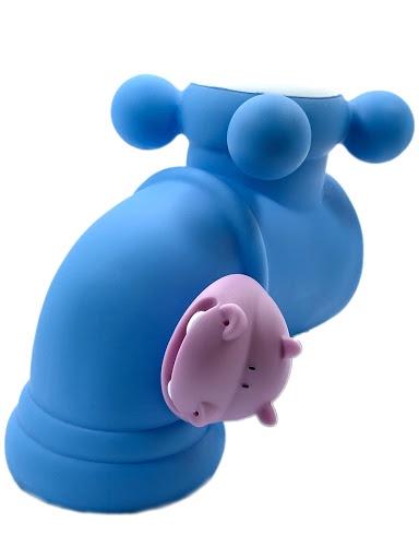 Накладка на кран Город Игр Бегемотик, серия Anna De Wailly голубой кран для ванной цена