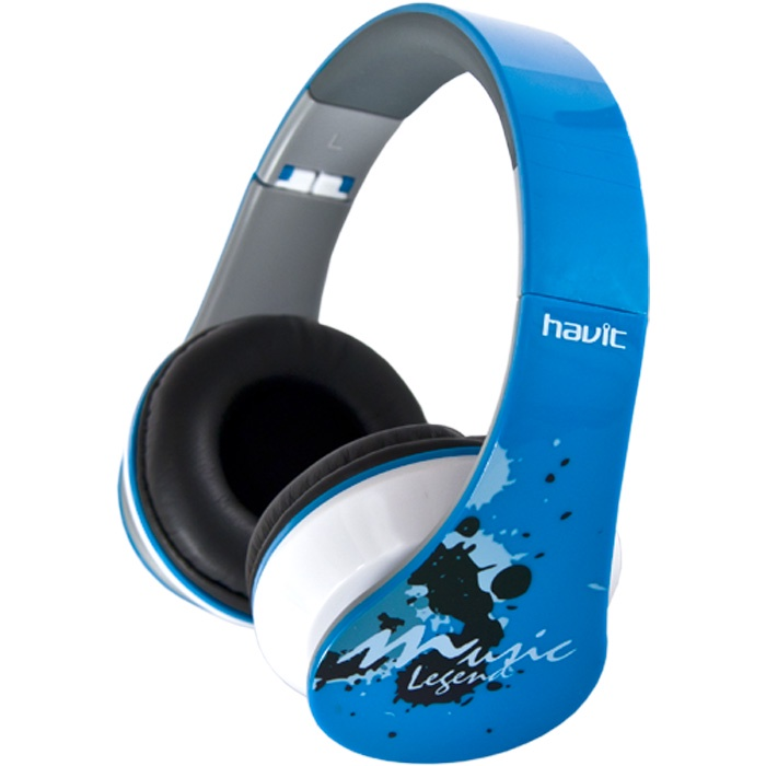 Наушники HAVIT HV-H85Dbl, голубой