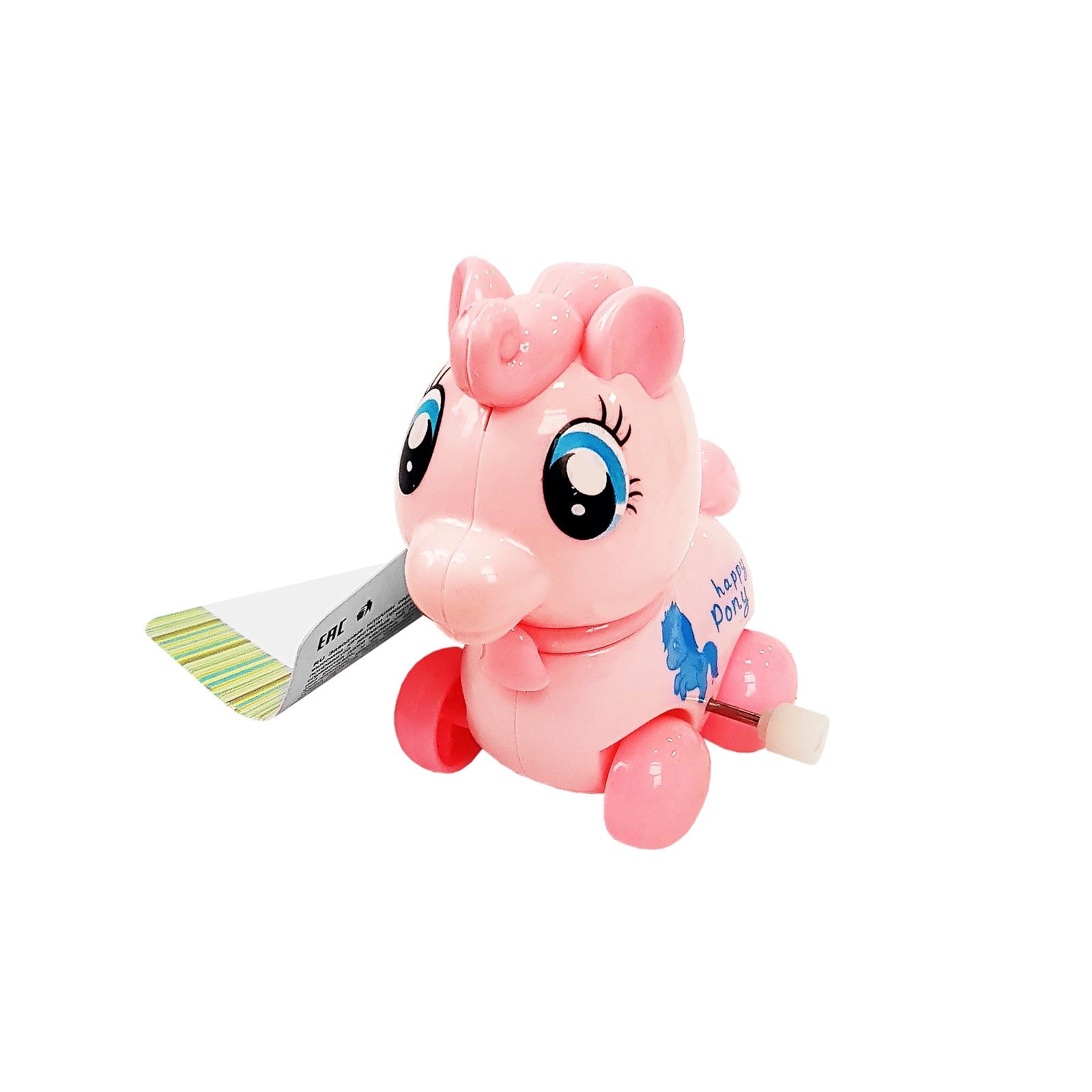 """Заводная игрушка UVITON """"Пони"""" розовый"""