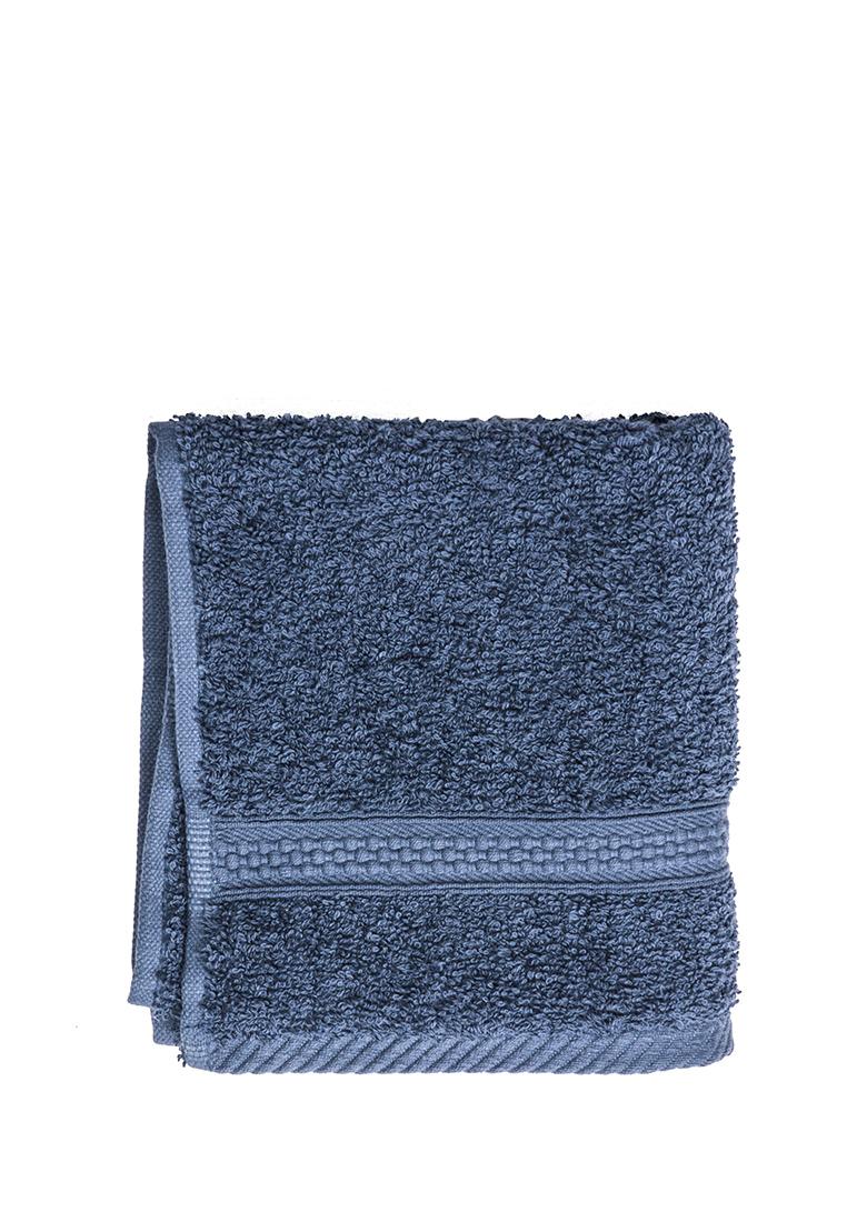 Полотенце для лица, рук или ног Arya home collection Miranda Soft, темно-синий полотенце для рук из жаккардовой махровой ткани lima