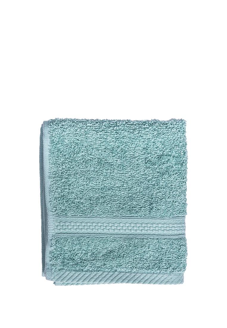 Полотенце для лица, рук или ног Arya home collection Miranda Soft, бирюзовый полотенце для рук из жаккардовой махровой ткани lima