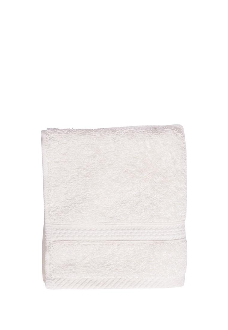 Полотенце для лица, рук или ног Arya home collection Miranda Soft, кремовый полотенце для рук из жаккардовой махровой ткани lima