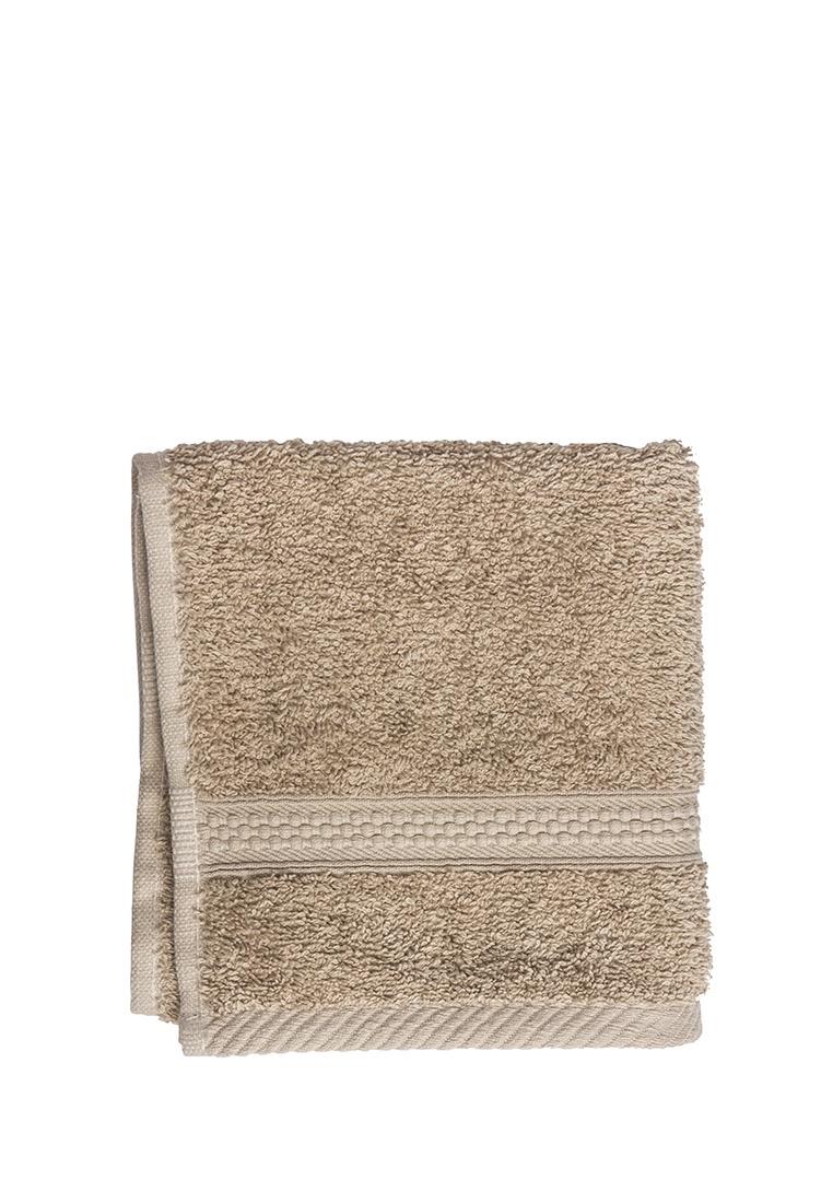 Полотенце для лица, рук или ног Arya home collection Miranda Soft, бежевый полотенце для рук из жаккардовой махровой ткани lima