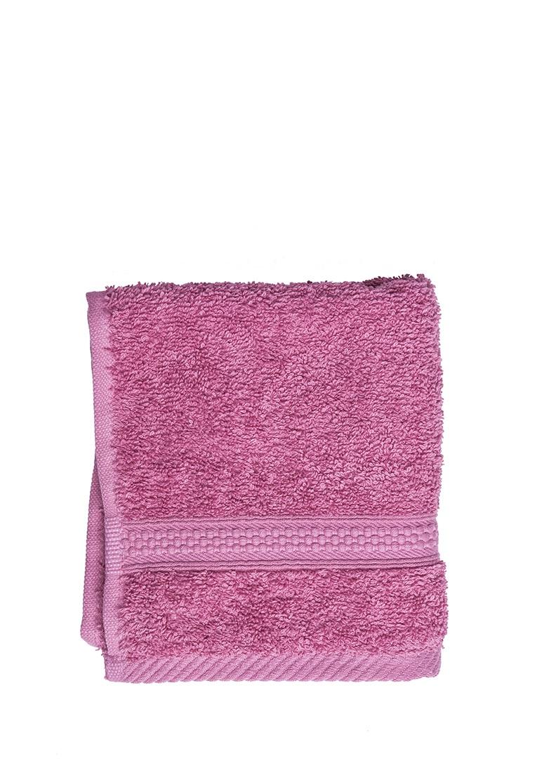 Полотенце для лица, рук или ног Arya home collection Miranda Soft, темно-розовый полотенце для рук из жаккардовой махровой ткани lima
