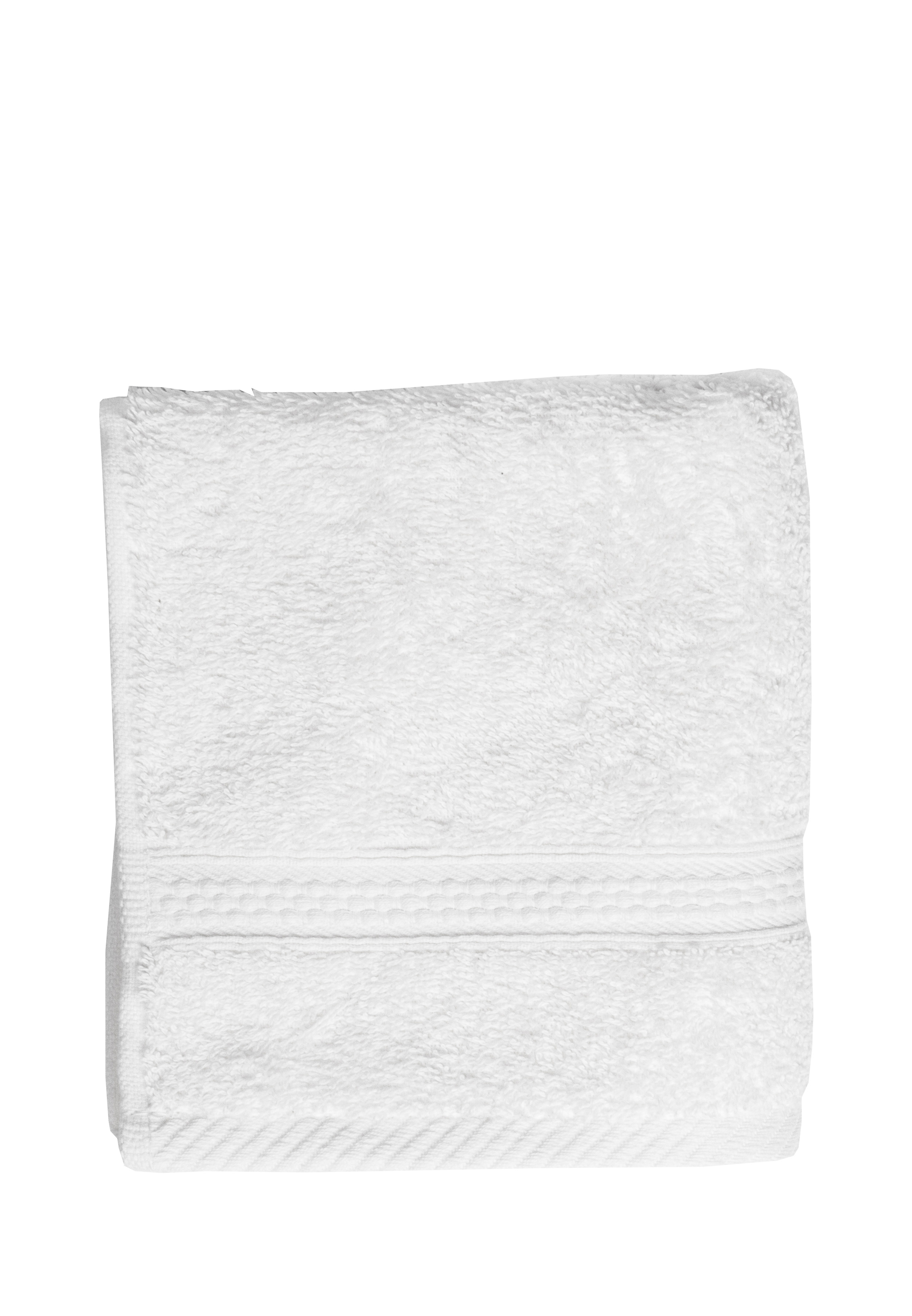 Полотенце для лица, рук или ног Arya home collection Miranda Soft, белый полотенце для рук из жаккардовой махровой ткани lima