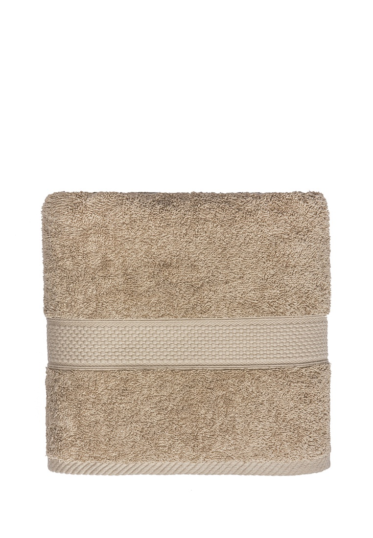 Полотенце банное Arya home collection Miranda Soft, бежевый