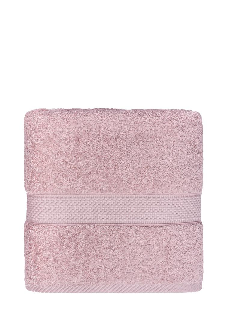 Полотенце банное Arya home collection Miranda Soft, розовый