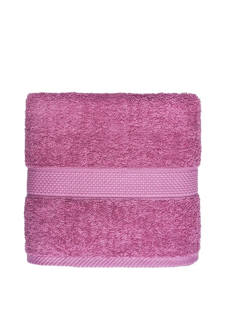 Полотенце банное Arya home collection Miranda Soft, темно-розовый цена