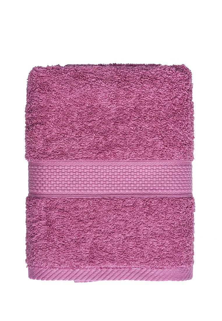 Полотенце банное Arya home collection Miranda Soft, темно-розовый