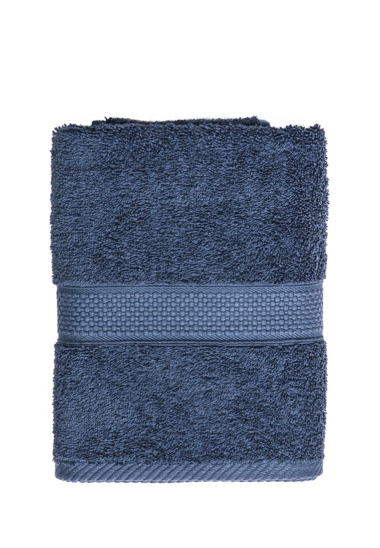 Полотенце банное Arya home collection Miranda Soft, темно-синий