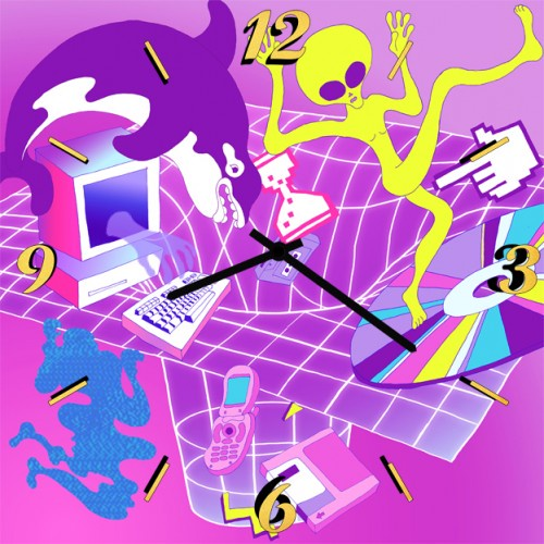 Настенные часы Kitch Art 4001754 настенные часы art time ntr 3812
