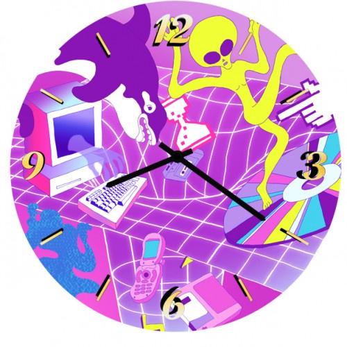 Настенные часы Kitch Art 3501755 настенные часы art time ntr 3812