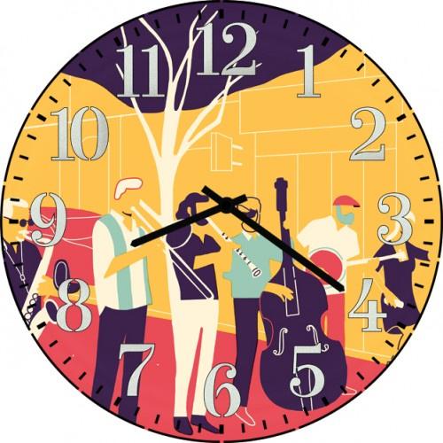 Настенные часы Kitch Art 3501757 настенные часы art time ntr 3812
