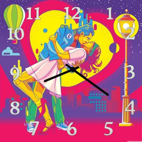 Настенные часы Kitch Art 3001760 часы настенные любовь 95838