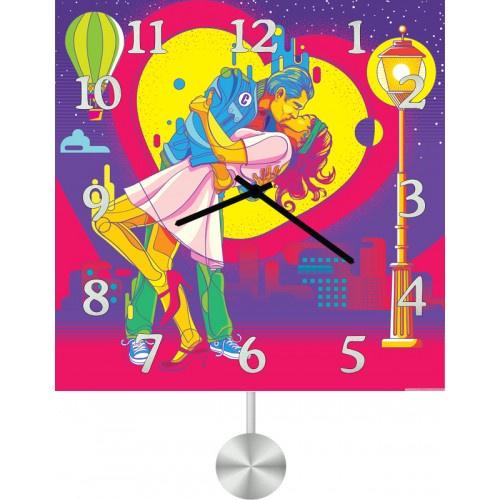 Настенные часы Kitch Art 3511760 настенные часы art time ntr 3812
