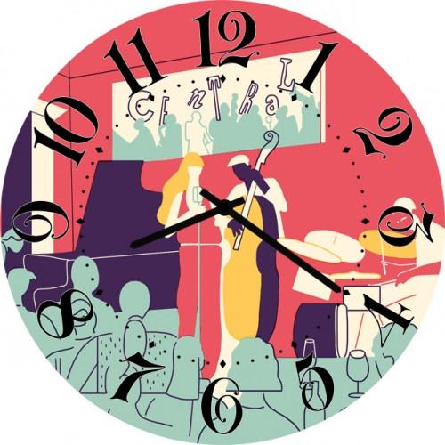 Настенные часы Kitch Art 4001765 настенные часы art time ntr 3812