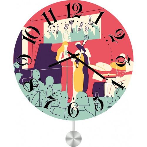Настенные часы Kitch Art 3011765 настенные часы art time ntr 3812