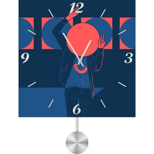 Настенные часы Kitch Art 3511766 настенные часы art time ntr 3812