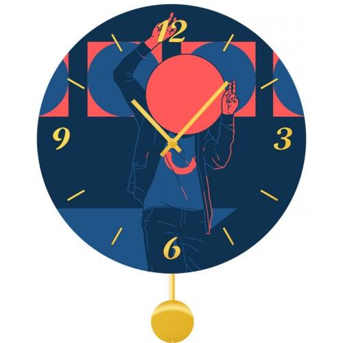 Настенные часы Kitch Art 4011767 настенные часы art time ntr 3812