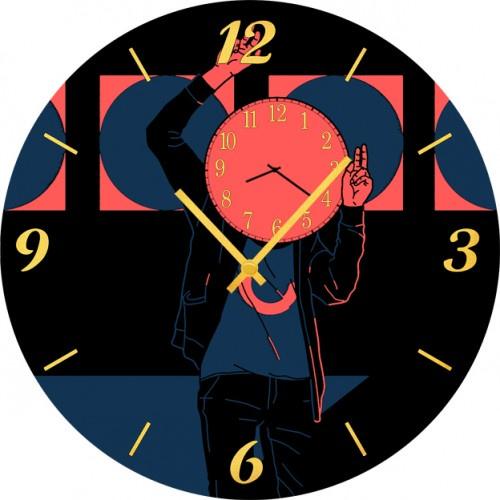 Настенные часы Kitch Art 3501768 настенные часы art time ntr 3812