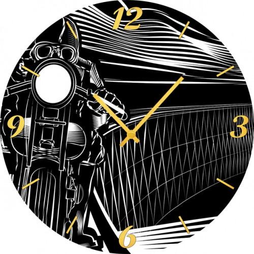Настенные часы Kitch Clock 4001774
