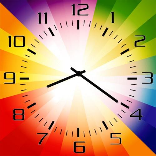 Настенные часы Kitch Art 40017994001799Настенные часы. Модель для современного интерьера. Механизм: Кварцевый. Корпус: Дерево. Размер: Диаметр 40 см. Рисунок: Часы-радуга
