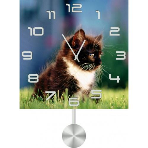 Настенные часы Kitch Clock 4011846 часы настенные miolla котик