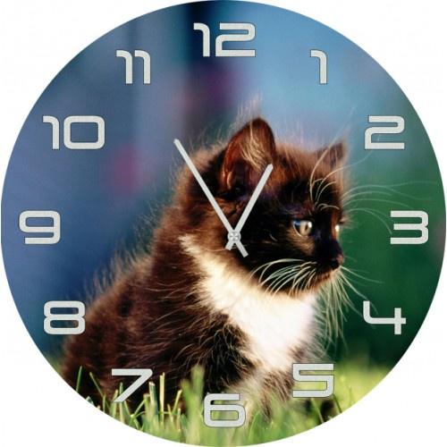 Настенные часы Kitch Clock 4001847 часы настенные miolla котик