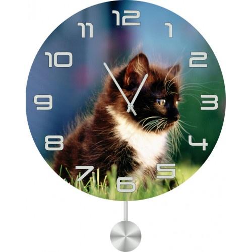 Настенные часы Kitch Clock 3011847 часы настенные miolla котик