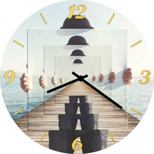 Настенные часы Kitch Art 3501899 настенные часы art time ntr 3812