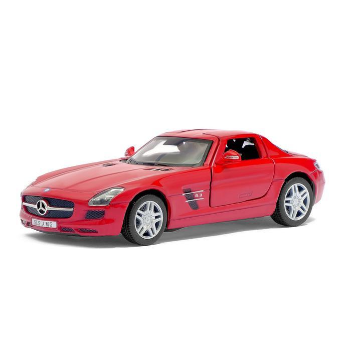 Машинка металлическая с открывающимися дверями модель Mercedes-Benz SLS AMG revell mercedes sls amg