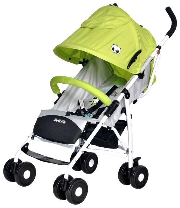 Коляска прогулочная Everflo Ete Tibet green-grey зеленый прогулочная коляска bertoni apollo накидка на ножки зелено серый green
