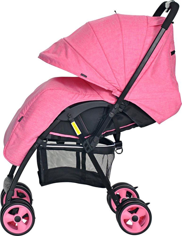 Коляска прогулочная Everflo Letter flamingo E-501 розовый прогулочная коляска everflo letter purple