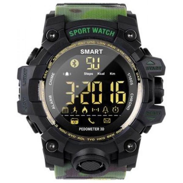 Умные часы Gsmin EX16S (Зеленый камуфляж)