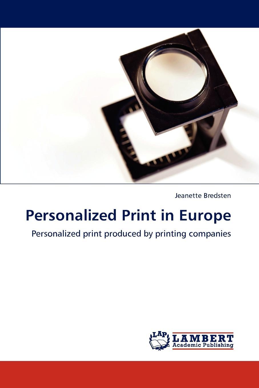 Jeanette Bredsten Personalized Print in Europe