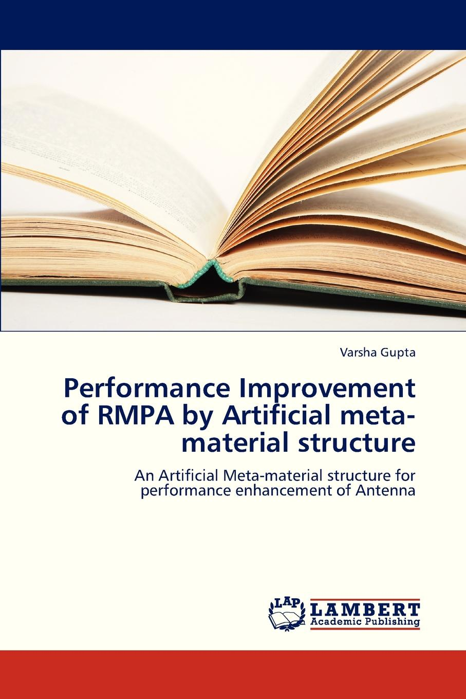Gupta Varsha Performance Improvement of Rmpa by Artificial Meta-Material Structure nulls improvement by rf switch in time modulated linear antenna arrays