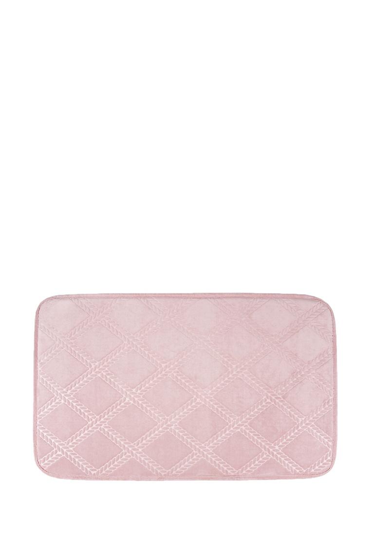 Коврик для ванной Arya home collection Kiko, розовый