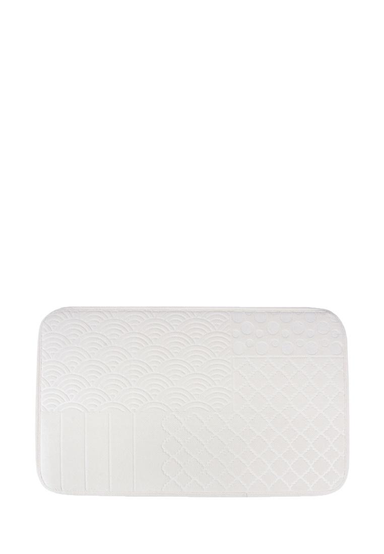 Коврик для ванной Arya home collection Clamence, кремовый